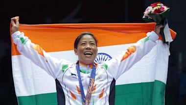 Mary Kom makes history at Women's World Boxing Championships