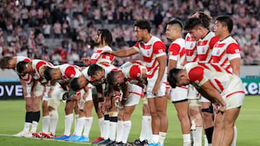 ラグビーW杯が開幕:日本代表、初戦ロシア代表に快勝。松島は史上初ハットトリック