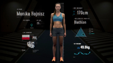 Anatomy of a Biathlete: Can Monika Hojnisz control her heart rate better?