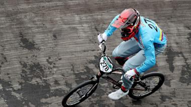 Carlos Ramírez pedals hard towards Tokyo 2020