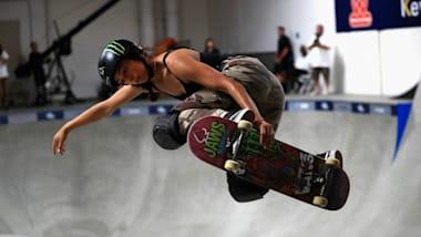 45秒間で技を繰り出すスケートボードの「パーク」。スノボ銀メダリストの平野歩夢も参戦か