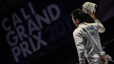 フェンシング・エペGPカリ大会最終日、男子エペの見延和靖が日本史上初のGP大会2連覇達成