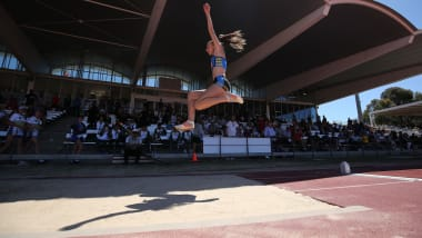Long Jump Heptathlon | Athletics - Summer Universiade - Napoli