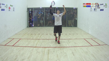 Highlights IRF 2018 Pan American Racquetball Championships Men´s Final