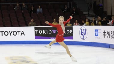 Bradie Tennell wins Skate America short program to stake claim for home title