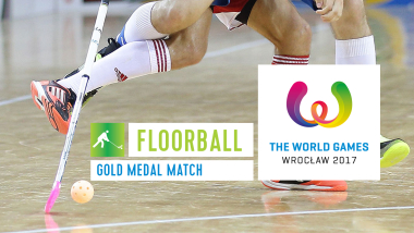 Floorball Partida Medalha de Ouro - The World Games Wroclaw 2017