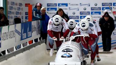 ボブスレー4人乗り1本目| IBSFボブスレー&スケルトンW杯-レークプラシッド