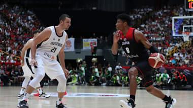 【バスケ日本代表戦】日本は格上ドイツに勝利 八村塁は31得点の活躍