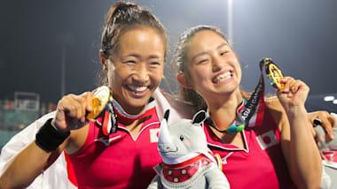 アジア大会優勝の女子ホッケー「さくらジャパン」は東京五輪の表彰台を目指す