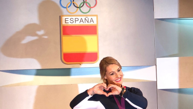 Lydia Valentin has received her reallocated London 2012 Olympic gold medal in weightlifting