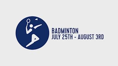 Um ano para a Tóquio - Badminton