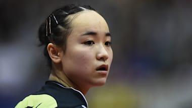 【卓球】ドイツOP最終日:女子シングルス・伊藤美誠が準優勝