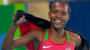 Чемпионка на 1500-метровке Кипьегон: