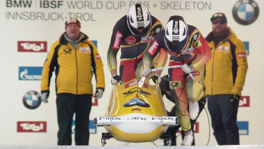 Francesco Friedrich completes year unbeaten in two-man bobsleigh