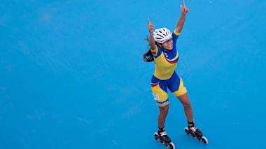 Combined 5000m K.-o.-Runde - Roller-Speedskating | Buenos Aires 2018 OJS