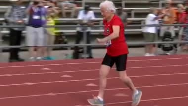 Meet the 103-year-old 'Hurricane' of the track