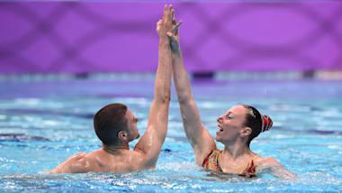 Mixed Duet Tech. Final| Artistic Swimming- FINA World Championships -Gwangju