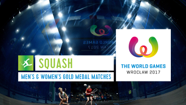 Squash Men's & Women's Gold Medal Matches - The World Games Wroclaw 2017
