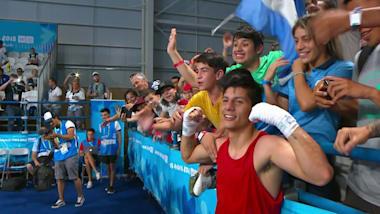 Brian Arregui consigue otro oro para Argentina
