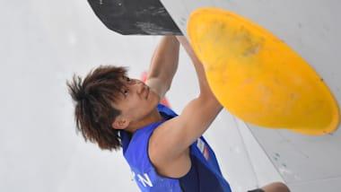 IFSCクライミング・ワールドカップベイル大会初日:男子ボルダリング予選は緒方良行ら日本勢9名が準決勝進出