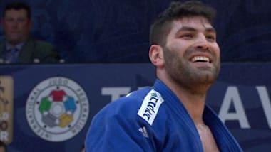Sasson provides dream ending for Grand Prix host Israel