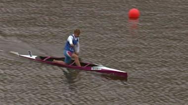 Day 1 Sprint - Canoe   YOG 2018 Highlights