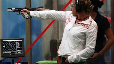ライフル/ピストルW杯北京大会:女子25mピストル、優勝はブルガリアの元五輪女王