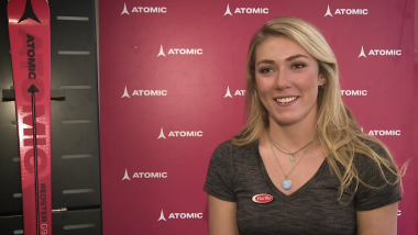 Mikaela Shiffrin on why Roger Federer is a role model for her