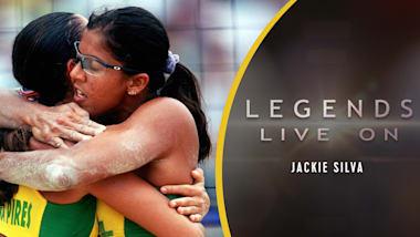 Brazil's Jackie Silva (extended)