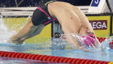 Kolesnikov gana el oro en los 50m espalda de los JOJ Buenos Aires 2018