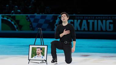 Keegan Messing dedicates Skate America gala performance to late brother