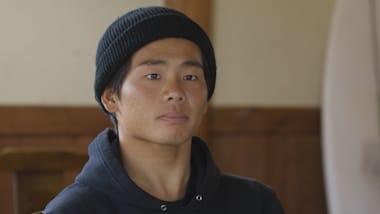 Le surfeur japonais Hiroto Ohhara vise l'or à Tokyo 2020