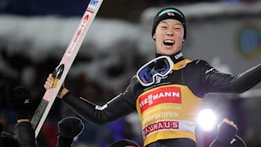 Kobayashi completes Four Hills Grand Slam