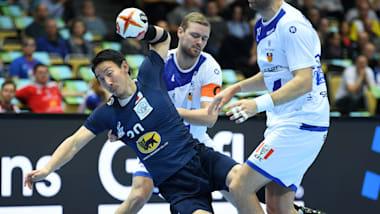 ハンドボール男子世界選手権、日本はアイスランドと接戦もグループリーグ4連敗