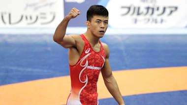 【レスリング】世界選手権カザフスタン大会3日目:文田健一郎がメダル確定で五輪内定1号に