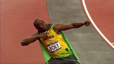 Usain Bolt at 17