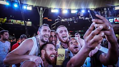 Serbia sink USA in 3x3 men's final