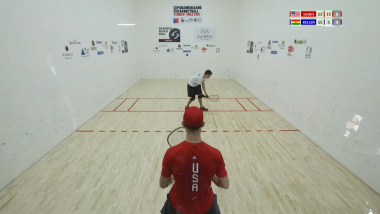 IRF 2018 Pan American Racquetball Championships Men´s Final