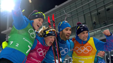 Relais Mixte - Biathlon | Highlights de PyeongChang 2018