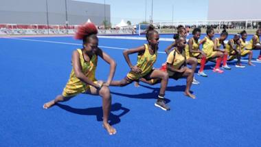 No shoes, no problem for Vanuatu's hockey team