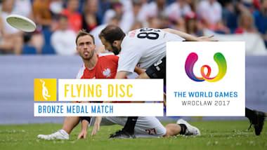 Фрисби, матч за третье место - Всемирные игры-2017, Вроцлав