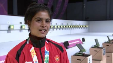 Manu Bhaker googles medals ahead of Buenos Aires