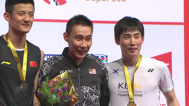 Lee Chong Wei crowns Malaysian Masters winner Son Wan Ho