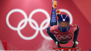 Lizzy Yarnold presses reset button after surgery