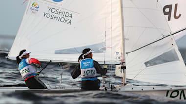 吉田愛/吉岡美帆が五輪出場が間近に…セーリング470級世界選手権、2位でメダルレースへ