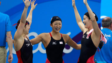 Rikako Ikee thanks swimmers for podium tribute at FINA World Championships