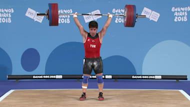 男子69公斤 - 举重 | 2018年青奥会集锦