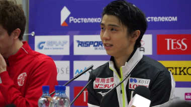 Yuzuru Hanyu talks about his ankle injury in Moscow