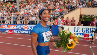 Shelly-Ann Fraser-Pryce faces big test from Britain's Dina Asher-Smith at 2019 London Anniversary Games