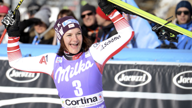 Siebenhofer completes Cortina double with Vonn ninth